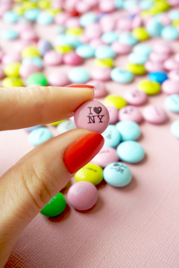 Personalised M&M's