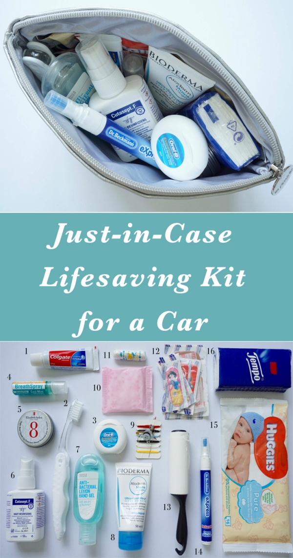 Just-in-Case Lifesaving Kit for a Car