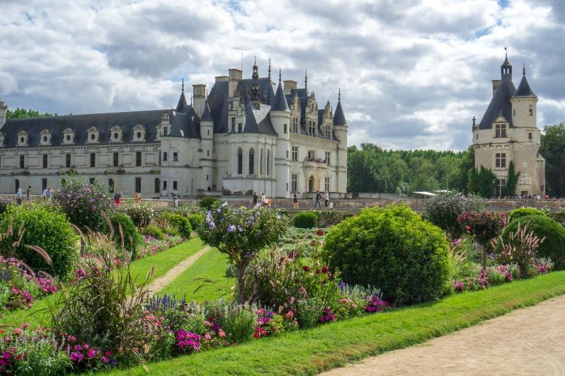 chateau de chenonceau front