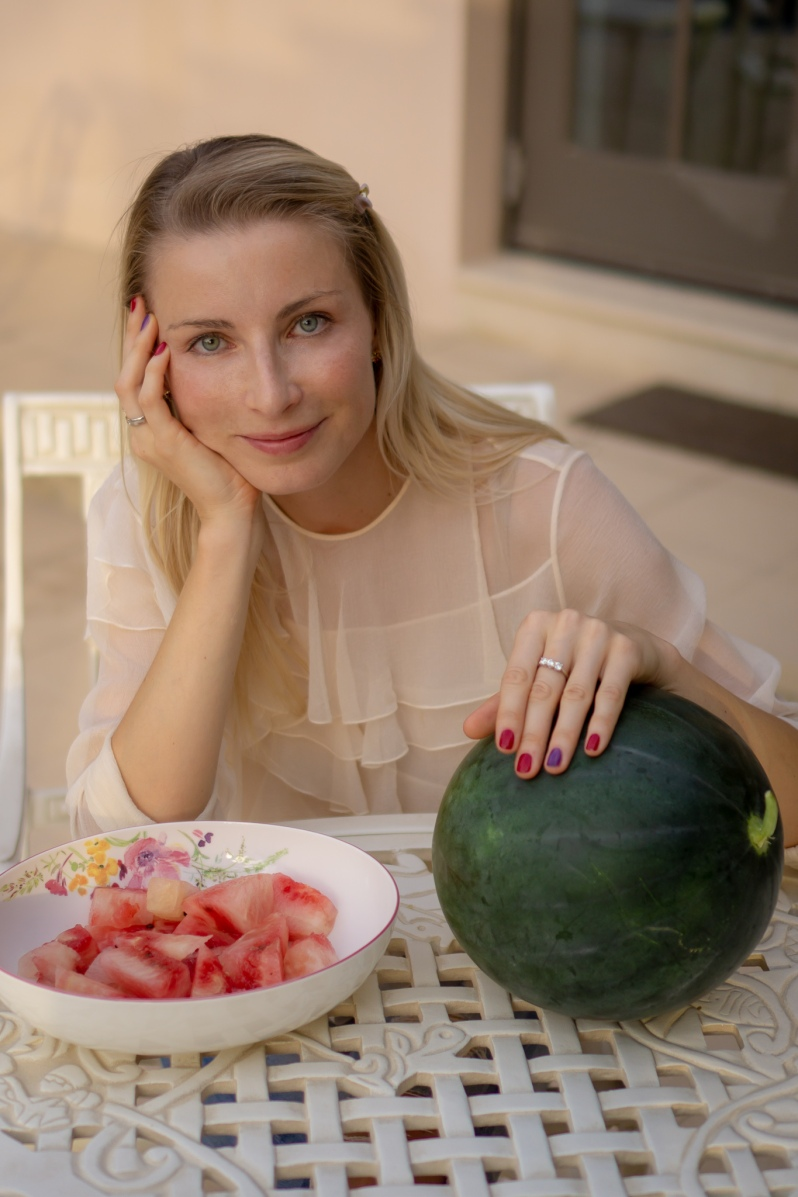 Me and my watermelon